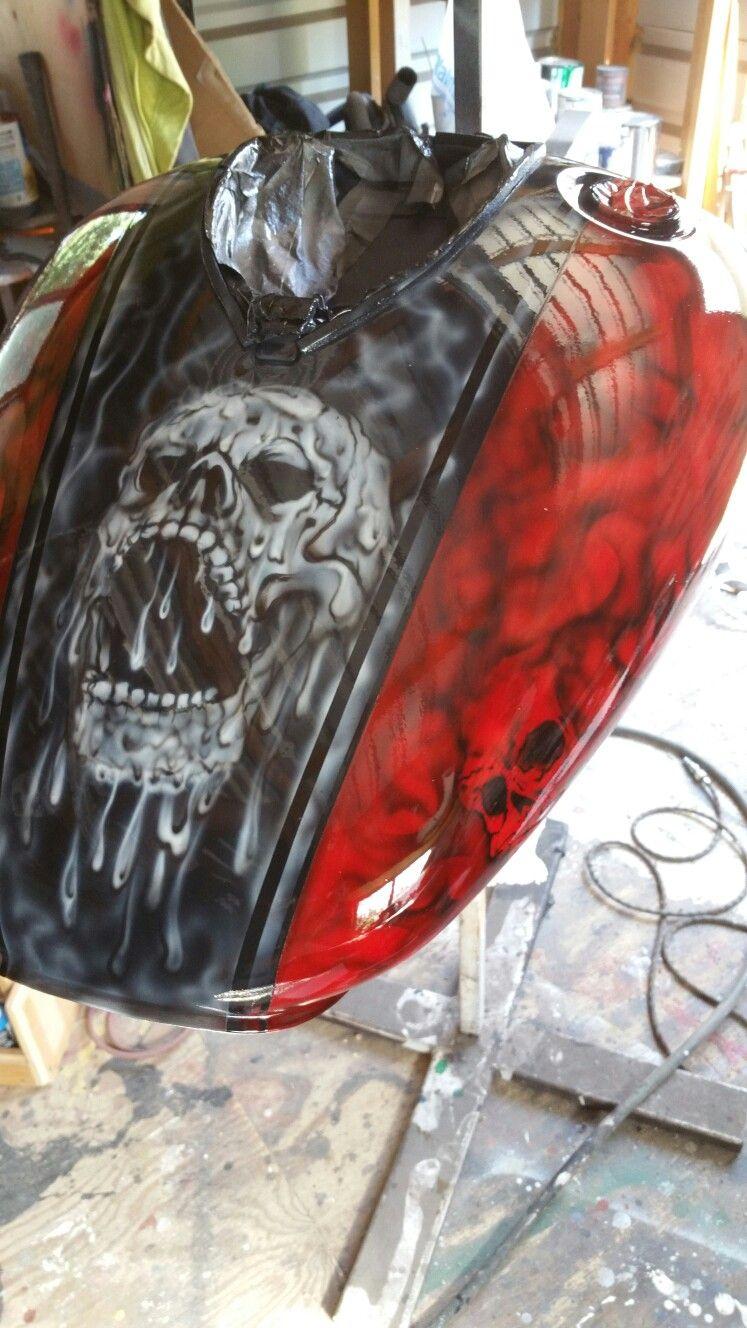 Skull tank