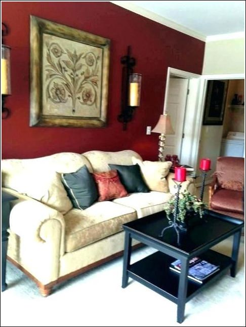 15 red and brown living room decor 10 ★ tipsmonika