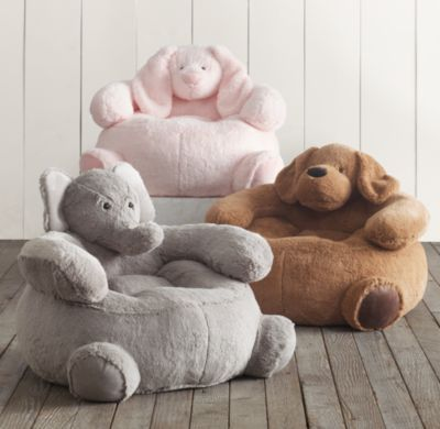 Cuddle Plush Elephant Chair Lamb Bunny Or Bear