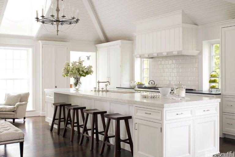 Open Kitchen #decoratewithwhite #whiterooms #whitekitchen #allwhiterooms #whiteroomideas