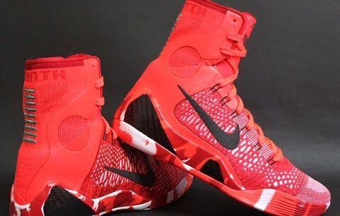 6d90b3aacc4 Kobe 9 s elite high top. Red