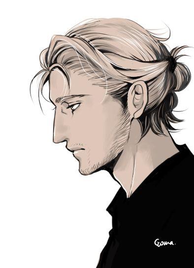 Anime Bun Hairstyles Male