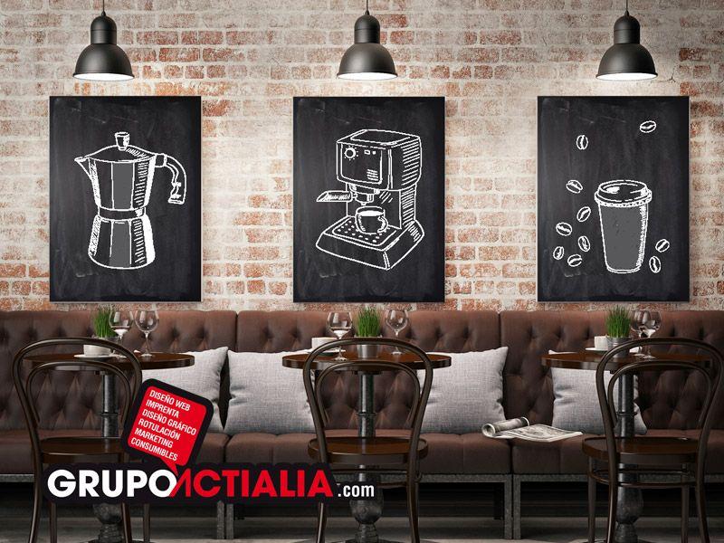 Vinilos de corte de pizarra para tiza personalizados para restaurantes bares hoteles hostales - Pizarra para bar ...