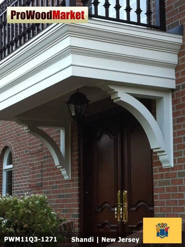 Wooden Portico Brackets   Products I Love   Pinterest   Porch ...