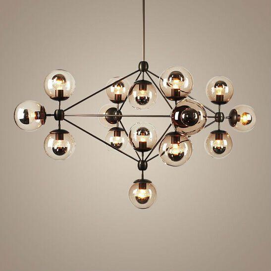 Moderne Kronleuchter sputnik industriellen edison glühbirnen pendelleuchte moderne