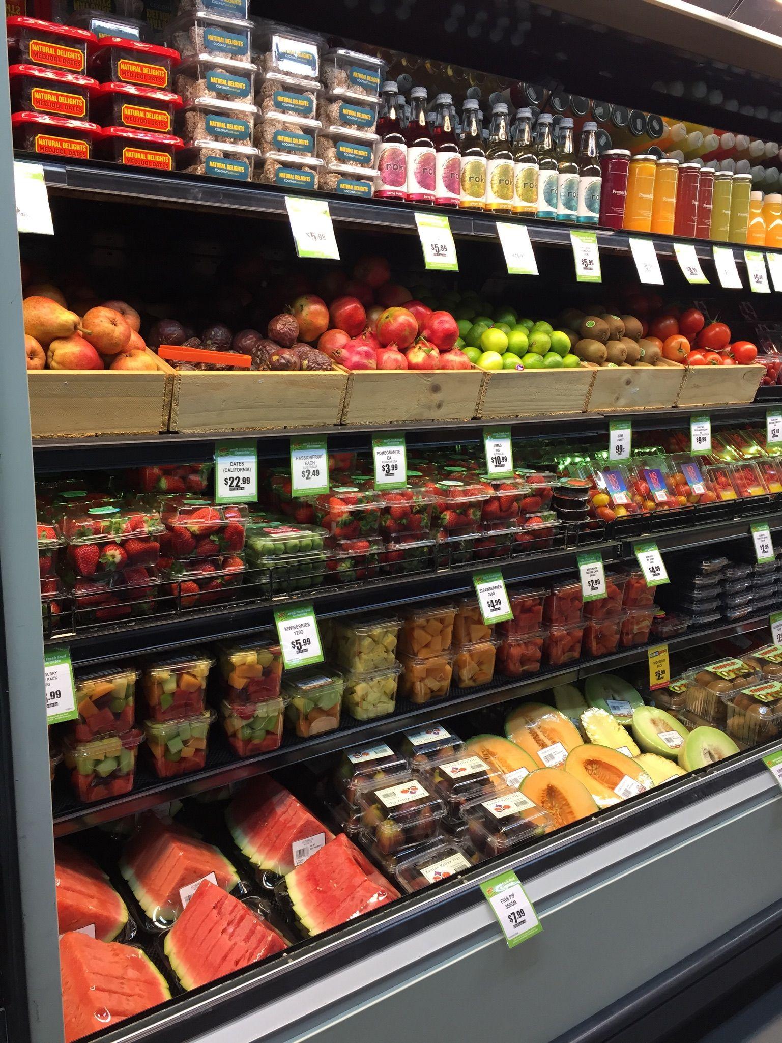 Pin De Cveti Em Fresh Produce Displays Loja De Fruta Frutas Fruteira