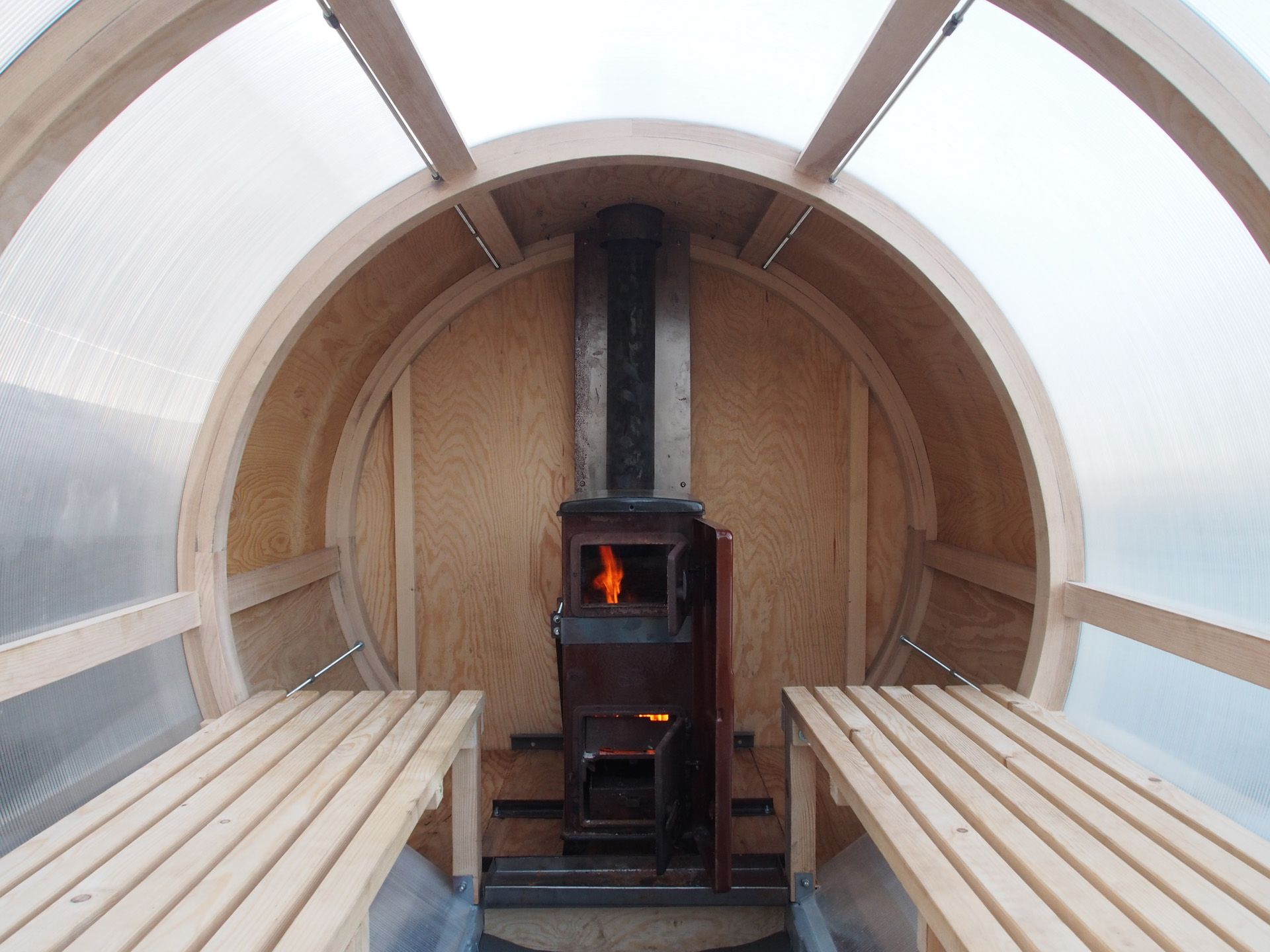 Interior view form our mobile sauna mobile sauna mobile sauna sauna design interior Interior design business forms