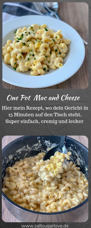 One Pot Mac and Cheese #schnellerezeptemittagessen