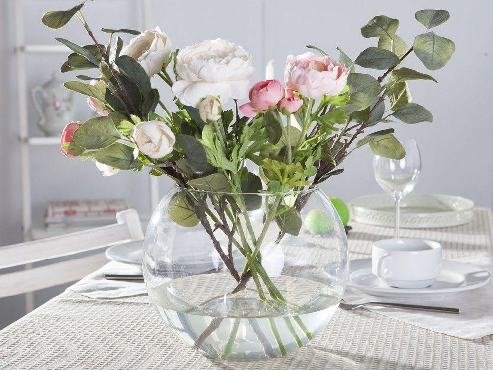 Wazon Kula Szklany Na Kwiaty Edwanex Srednica 20 Cm Glass Fish Bowl Fish Bowl Vases Glass Fish