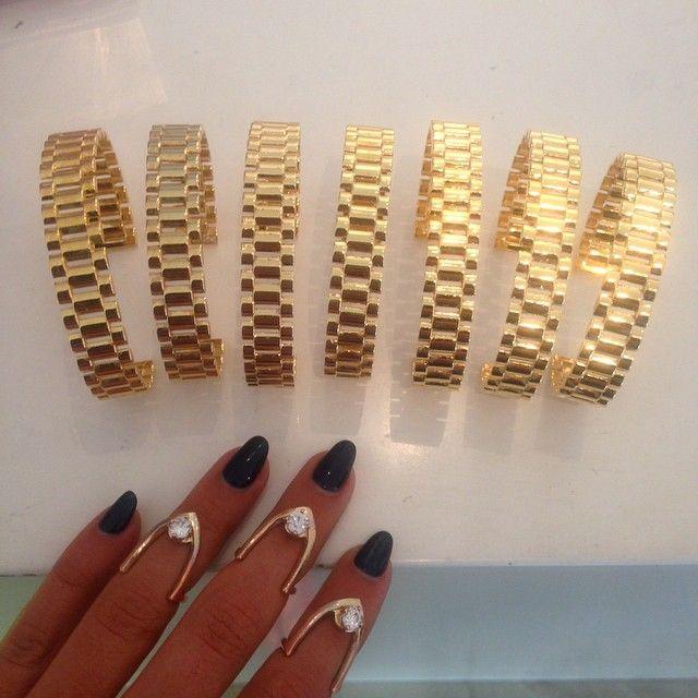 Rolee Cuff Bracelets by @melodyehsani ~ melodyehsani's photo on Instagram