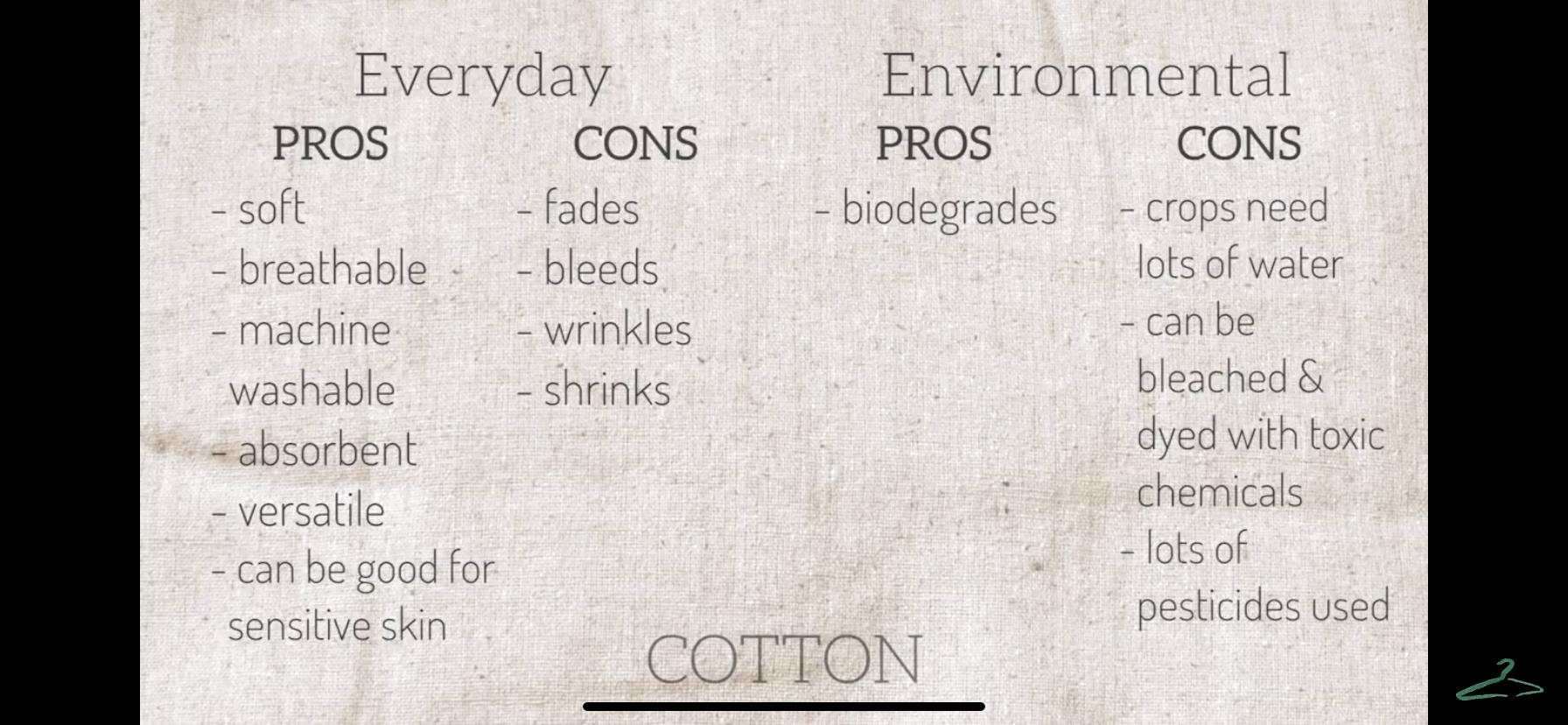Pros Cons Of Common Fabrics Fibres Fabrics Part 1 Youtube In 2020 Sustainable Fabrics Fabric Synthetic Fabric