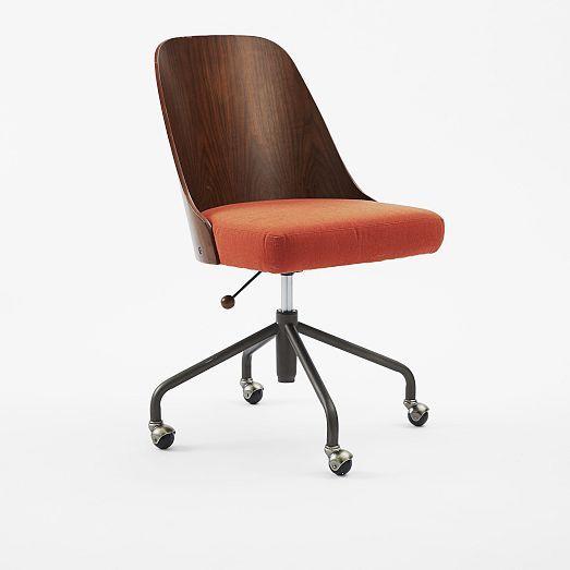 Bentwood Office Chair West Elm Office Chair Modern Office