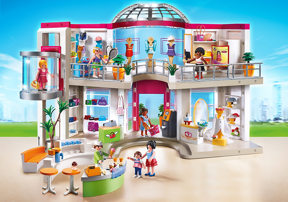 Furnished Shopping Mall - PLAYMOBIL® USA E | playmobil | Pinterest ...