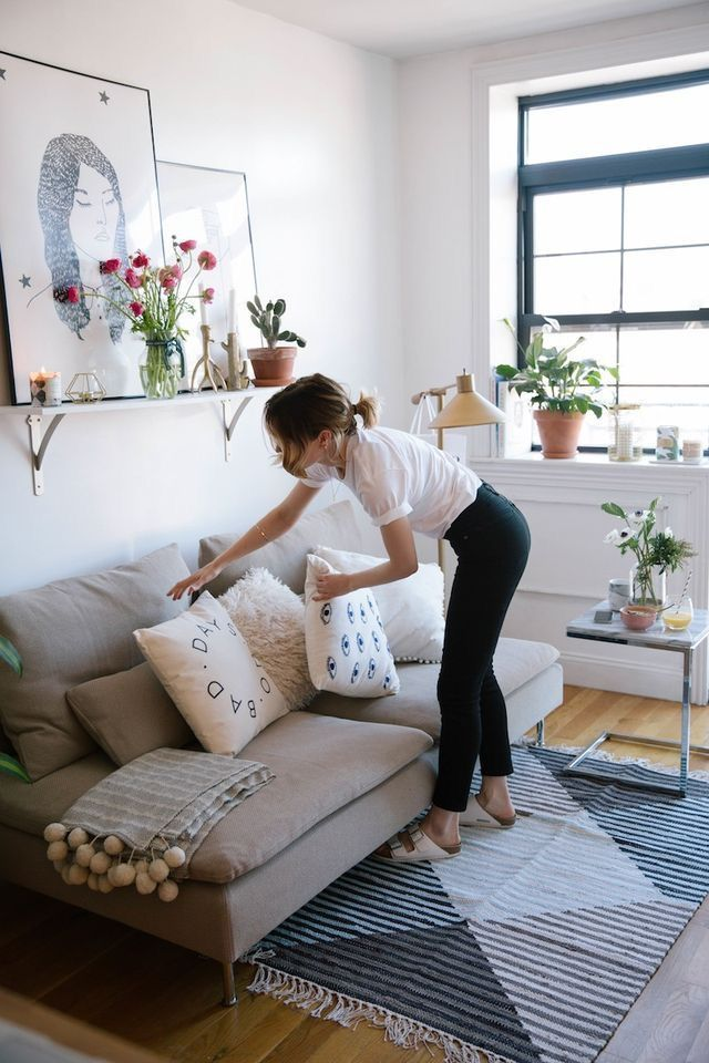 10 Easy Ways To Give Your Home Decor An Update Studio apartment