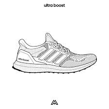 Image result for adidas boost sneaker template