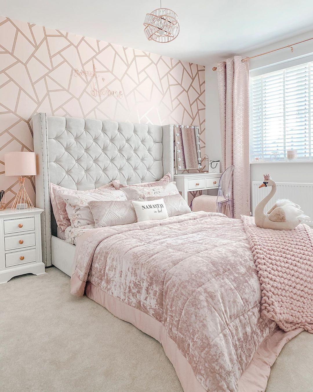 Luxury Girl bedroom Design in 10  Bedroom decor, Classy bedroom