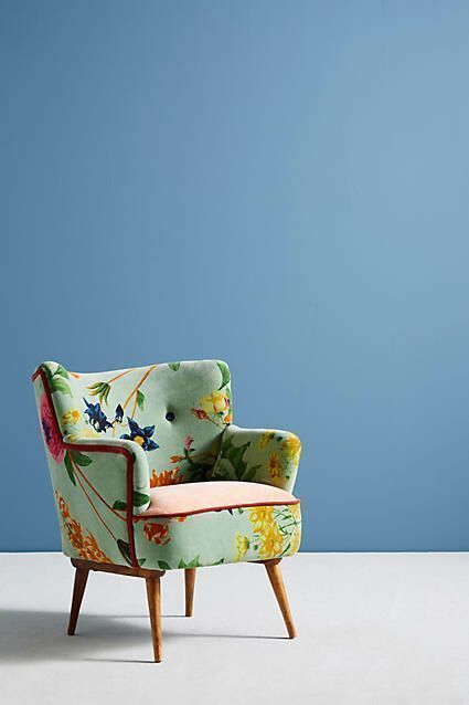 Awesome Love This Chairanthropologie Floret Accent Chair Gamerscity Chair Design For Home Gamerscityorg