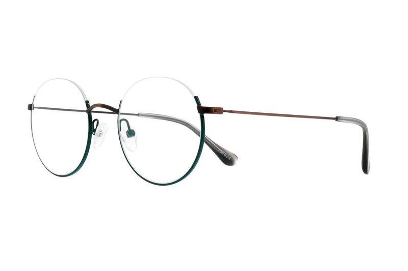 b0b7e3559a Green Round Glasses  157824 Round Eyeglasses