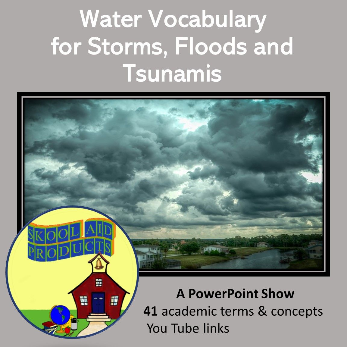 Natural Disasters Water Vocabulary Terms Amp Concepts