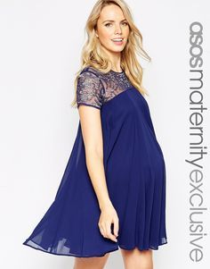 4 months pregnant cocktail dress embellished | Best dress ideas ...