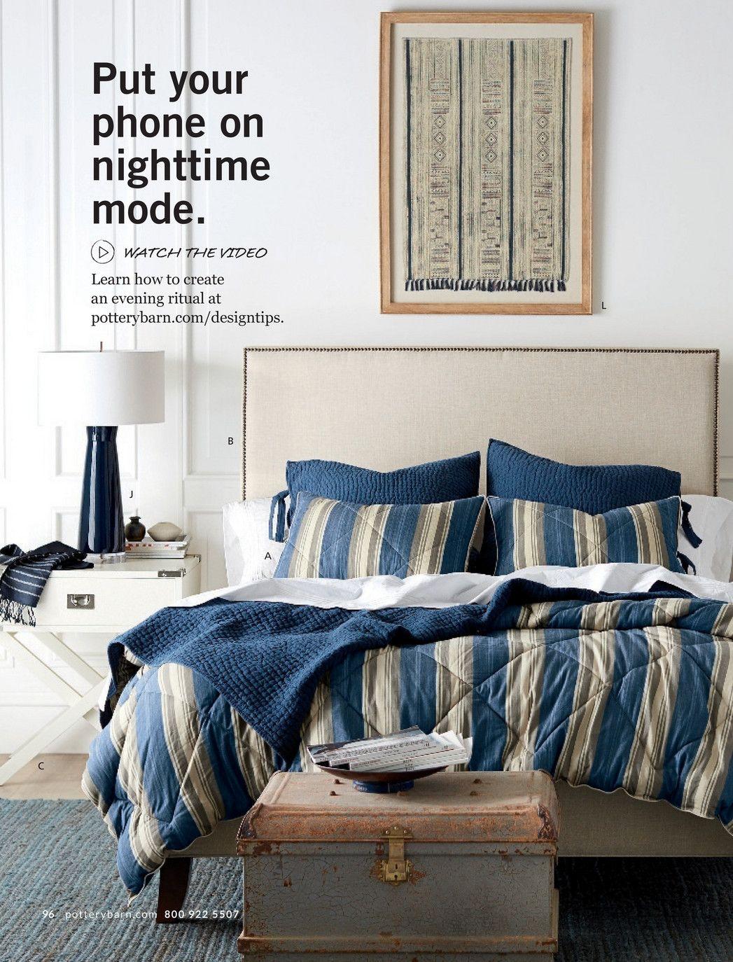 Master bedroom headboard ideas  Pottery Barn  Spring  D  Page   LJ Designs Kelly