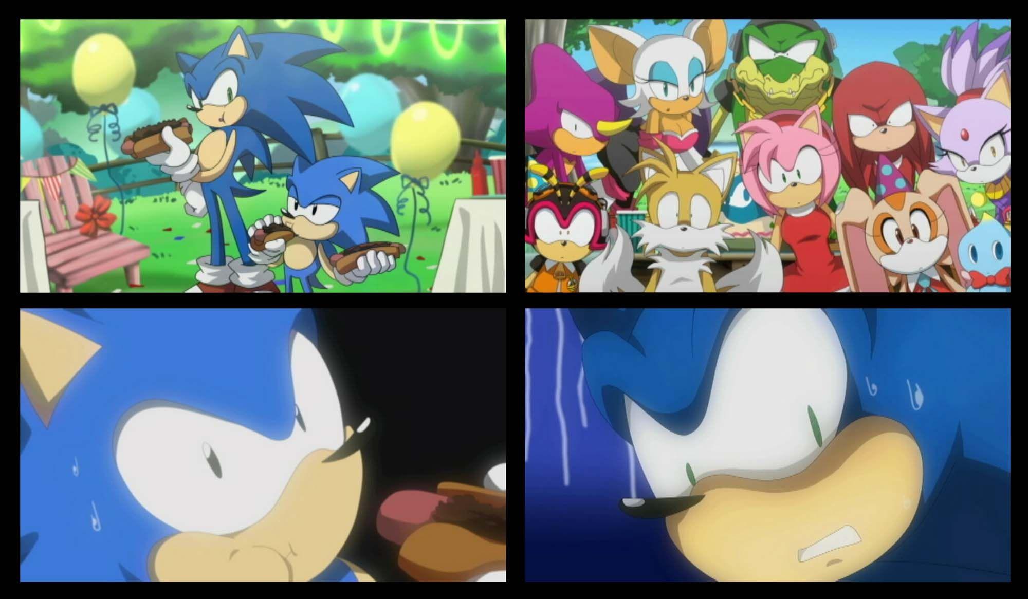 Gambar Kartun Sonic Knuckles: Sonic Generations Cutscene By LadyGT.deviantart.com On
