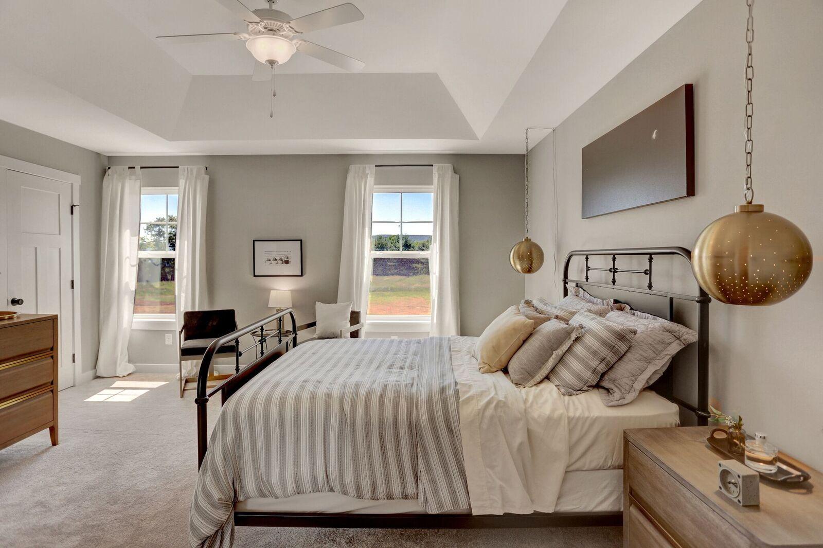 Stylish bedroom ideas. Make this DIY Boho bedroom pendant ...