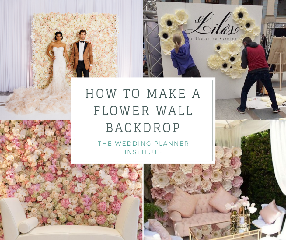 Flower Wall Backdrop How To Make A Flower Wall Backdrop For A