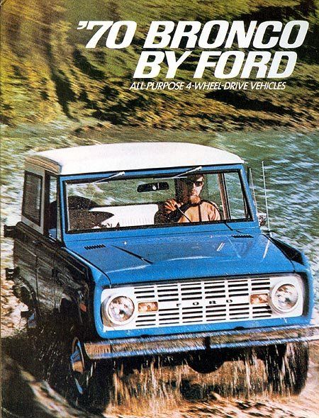 Check Out This Ad For A 1970 Ford Bronco With Images Ford