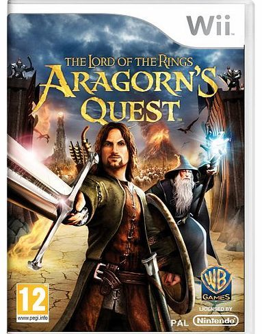 Warner Bros. Interactive Lord of the Rings: Aragorns Quest (Wii) No description (Barcode EAN = 5051892009874). http://www.comparestoreprices.co.uk/lord-of-the-rings-games/warner-bros-interactive-lord-of-the-rings-aragorns-quest-wii-.asp