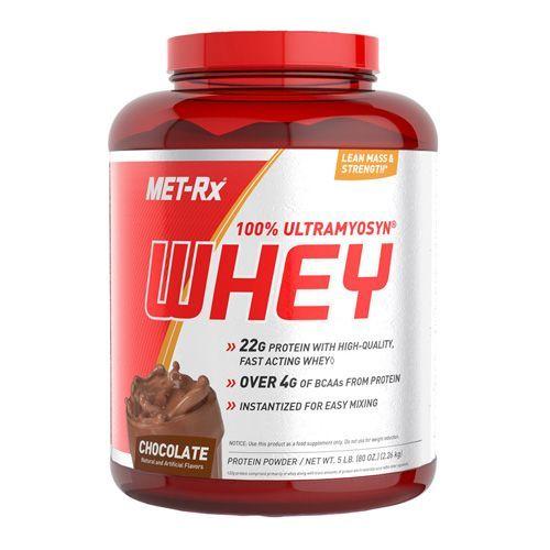Met-Rx 100% Ultramyosyn Whey 5Lb Chocolate | Chocolate ...