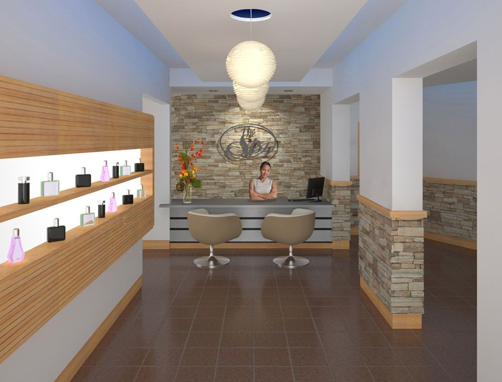 Medical spa interior design lobby az usa store reno ideas pinterest spa interior - Decoratie spa ...