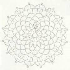 Bildergebnis für mandalas tejidos al crochet patrones