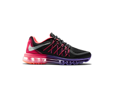 Nike Air Max 2015 Women's Running Shoe: Black/Hyper Punch/Hyper Grape/