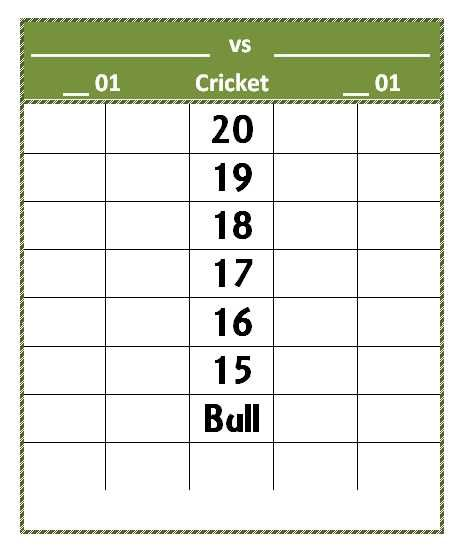 Dart Score Sheet Template Mixed Pinterest Darts scores and Darts - sample football score sheet