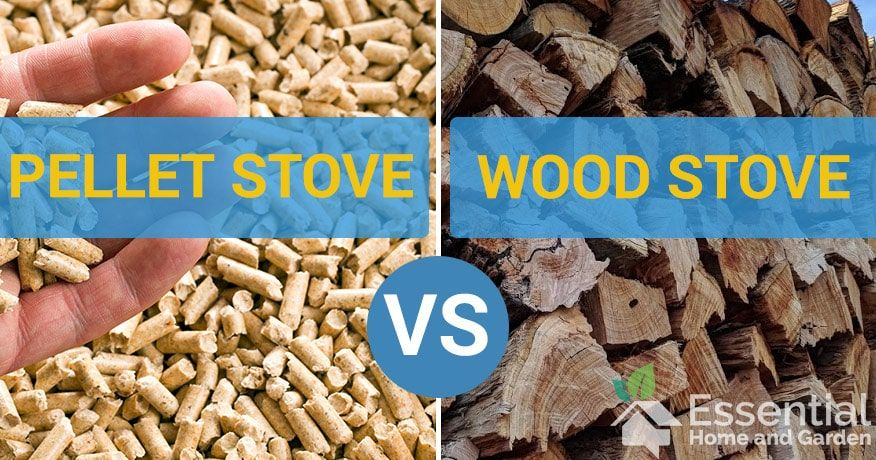 Pellet Stove Vs Wood Stove - Which Should You Choose in ...