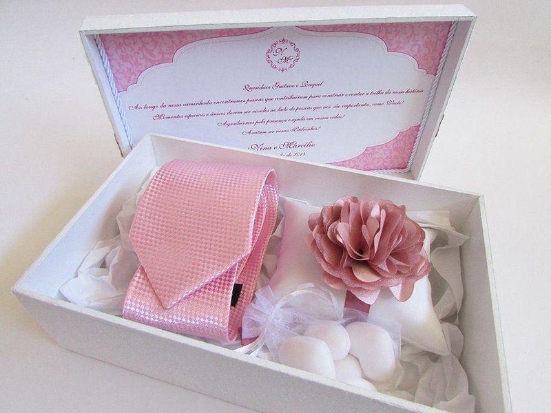 Bolsa De Papel Personalizada Casamento : Caixa padrinhos convite lembrancinha