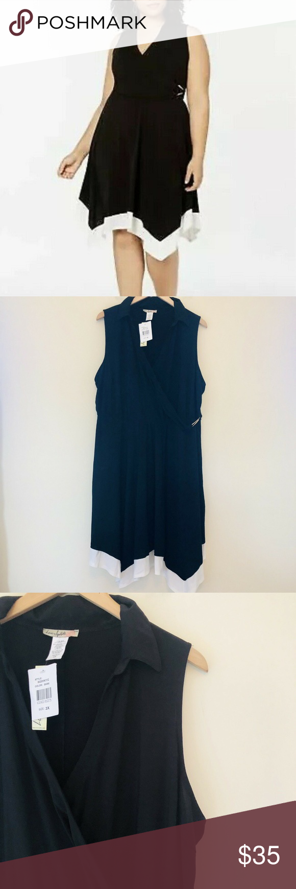 Love Squared Side Wrap Ruched Sleeveless Dress Pullover Styling Hem Style Sleeveless Dress