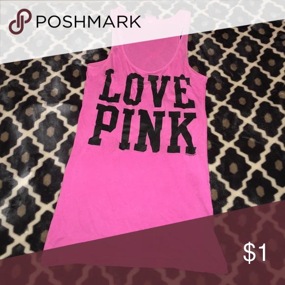 Short sleeve PINK tank top PINK Victoria's Secret Intimates & Sleepwear