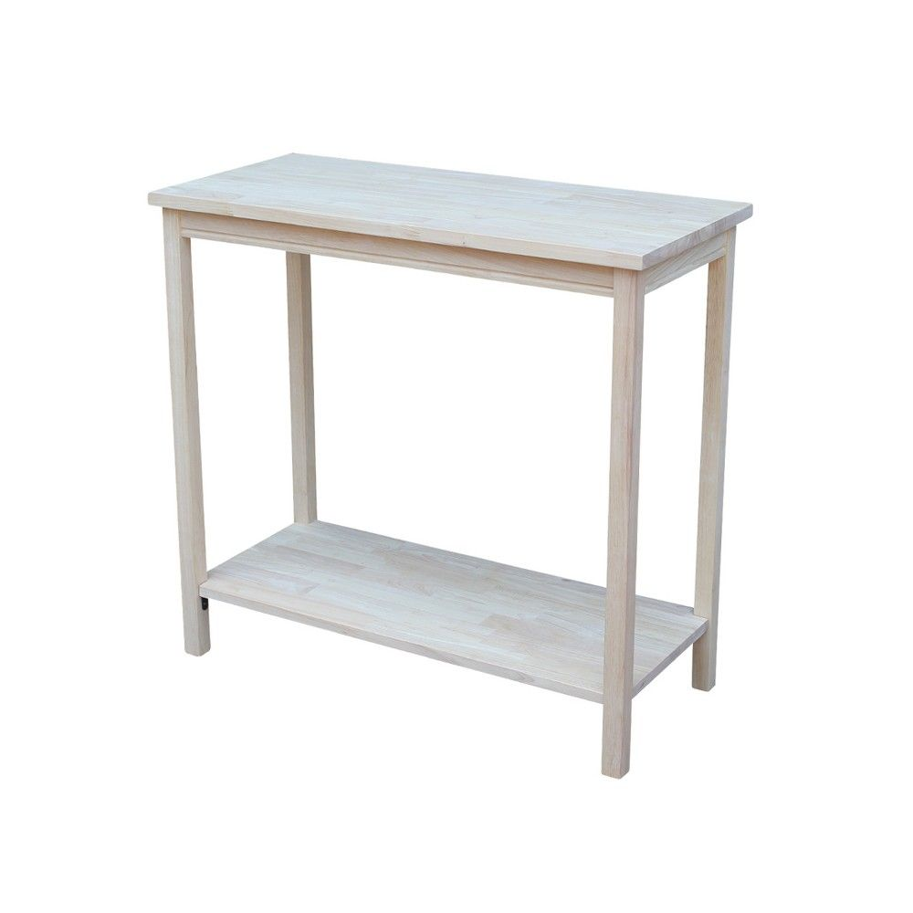 Portman Accent Table Unfinished International Concepts Products