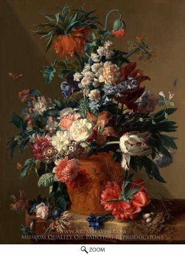 Vase Of Flowers Pinterest Vans Paintings And Oil Painting