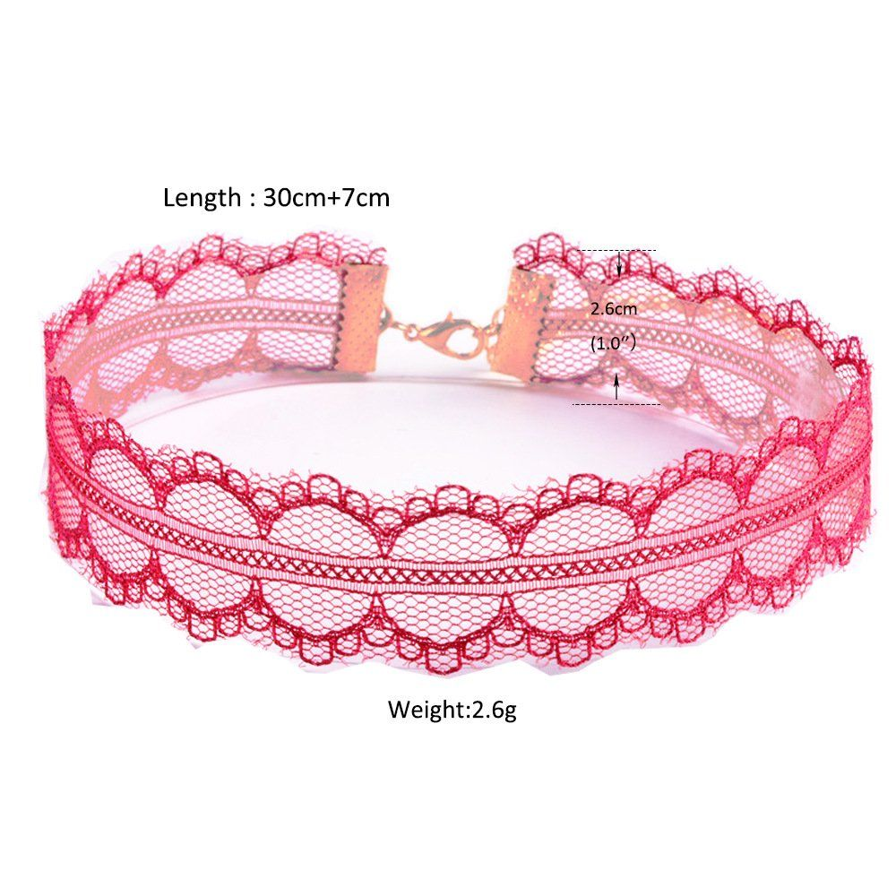 7acf3acea74f7 Choker Necklaces Set Velvet Tattoo Lace Choker Set for Women and ...
