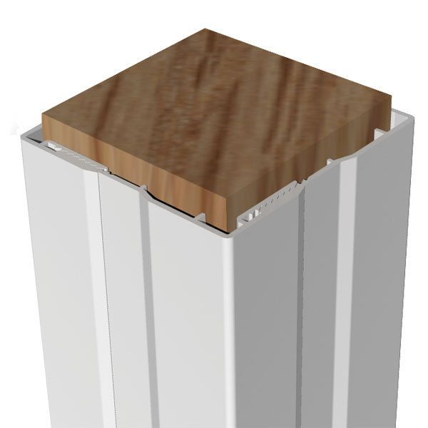 Rdi 4 Piece Post Wrap Vinyl Railing Deck Posts Design