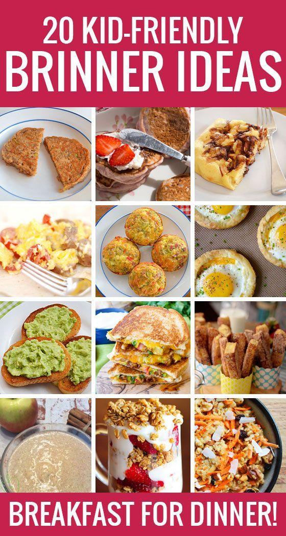 20 kid friendly brinner ideas cocinas y recetas 20 kid friendly brinner ideas forumfinder Choice Image