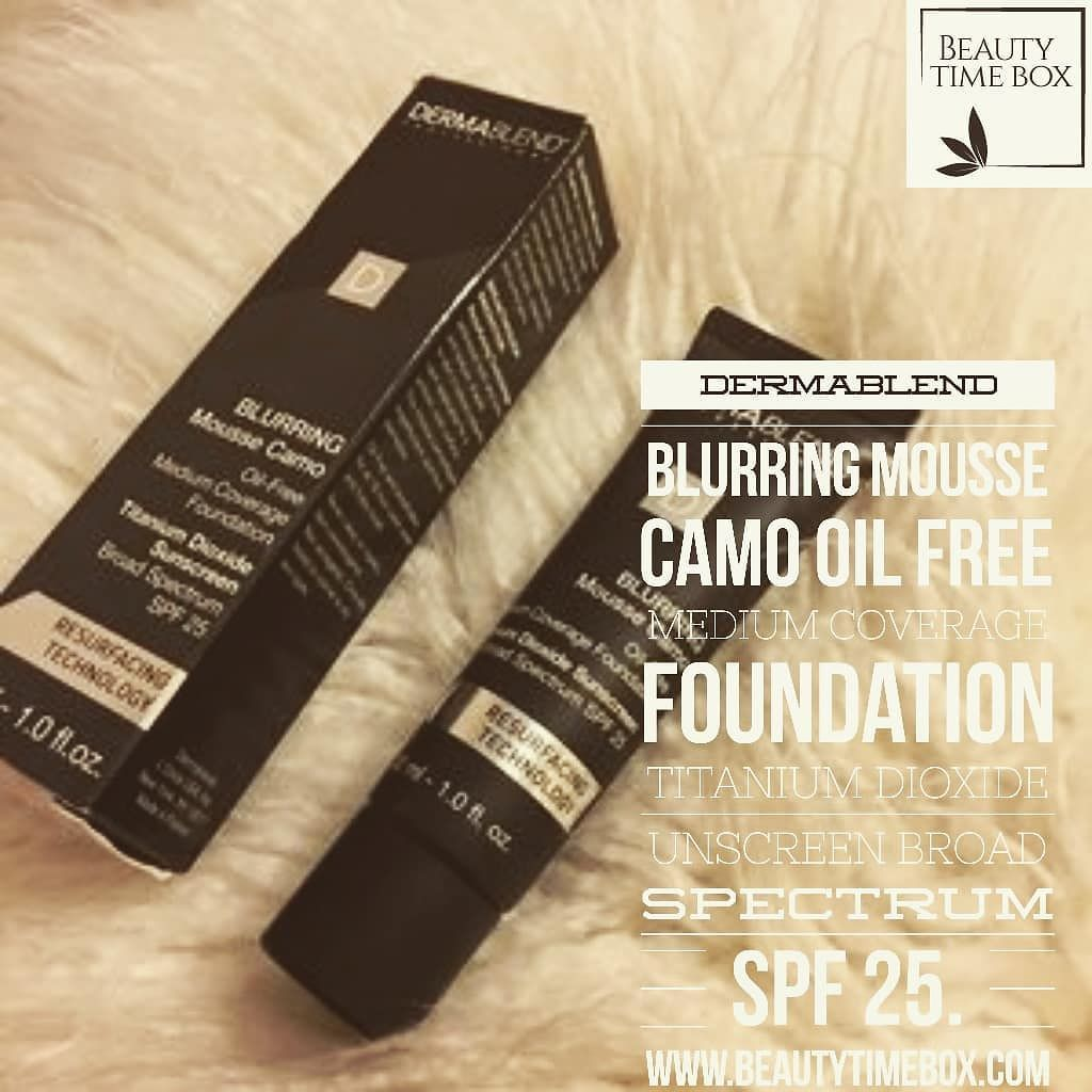 Dermablend blurring mousse camo oil free medium coverage