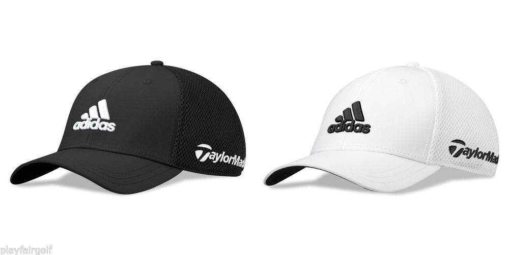 19cbc87d144 New For 2014 - Adidas TaylorMade Golf Tour Fitted Golf Cap Hat ...