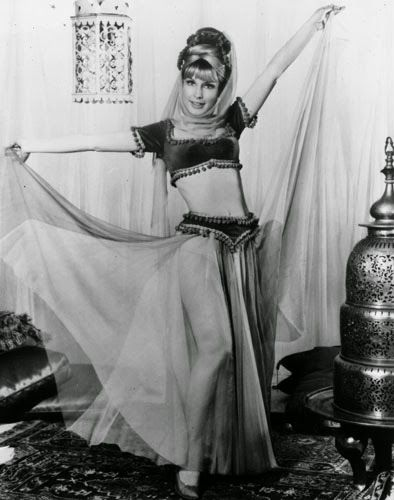 "Vintage Glamour Girls: Barbara Eden in "" I Dream Of Jeannie """