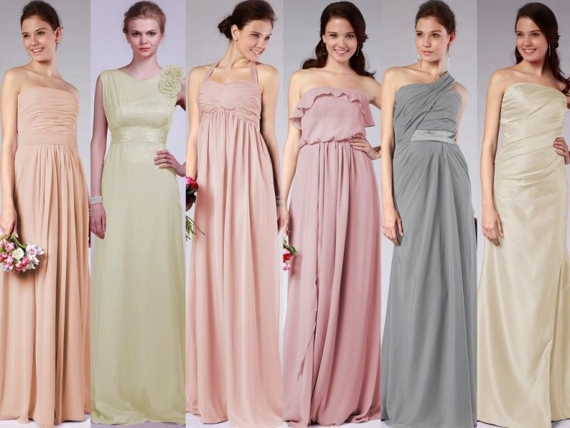 Pastel Bridesmaid Dresses Brisbane Download Page Fashion Style In ...