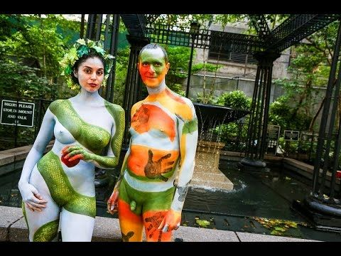 USA Body Painting Day New York