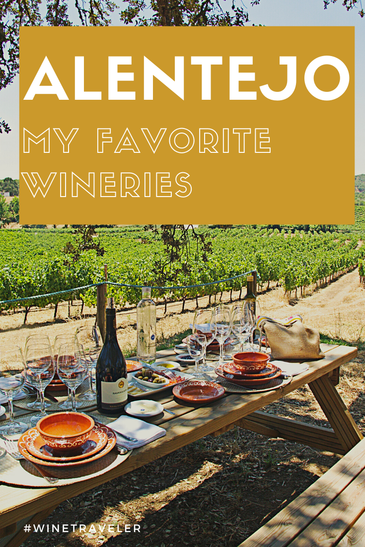 Alentejo is one of the world's best wine regions! A lot of different wineries and amazing wine tasting, cheese pairing and overwhelming lanscapes. #Portugal #winetravel #winetrip #portuguesewines